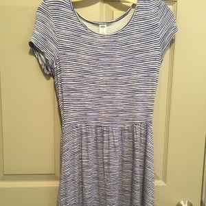 Old Navy striped cotton dress.